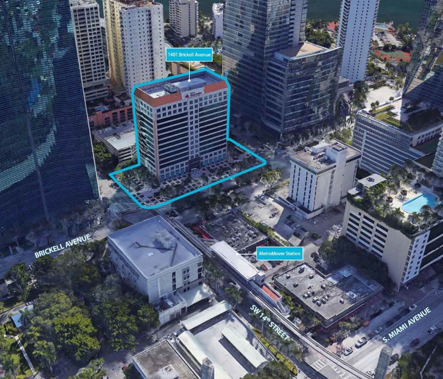 Banco Santander Brickell Avenue Site, 80 Stories Permitted