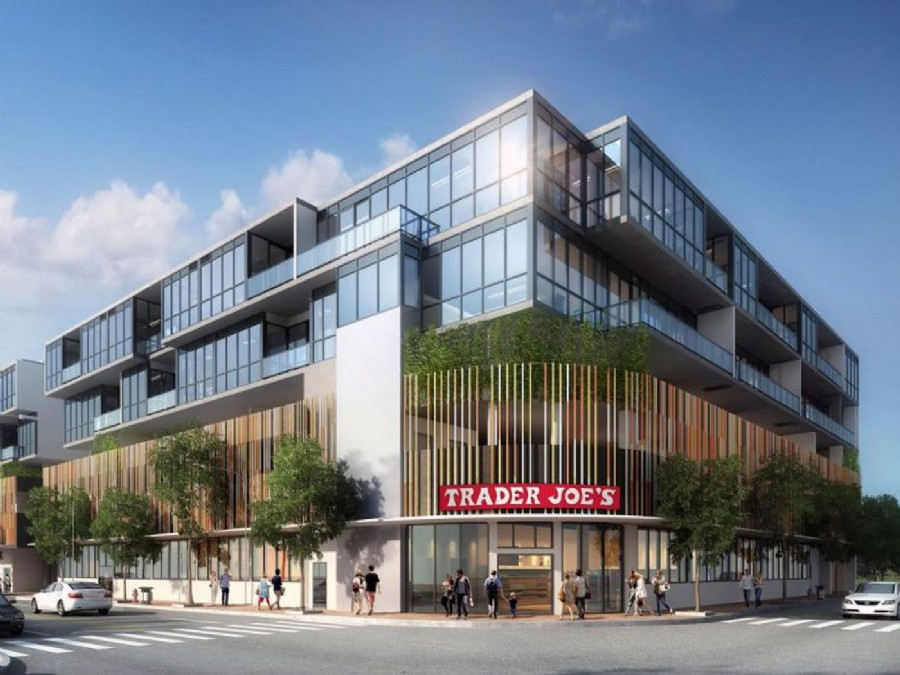 Trader Joe�s Begins Vertical Construction In South Beach