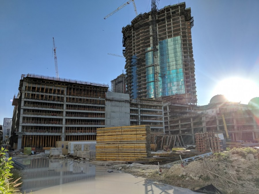 55,000 Square Feet Of Retail Now Under Construction At Worldcenter�s Block D