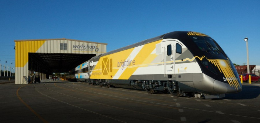Final Brightline Train Delivered, Service By Year End