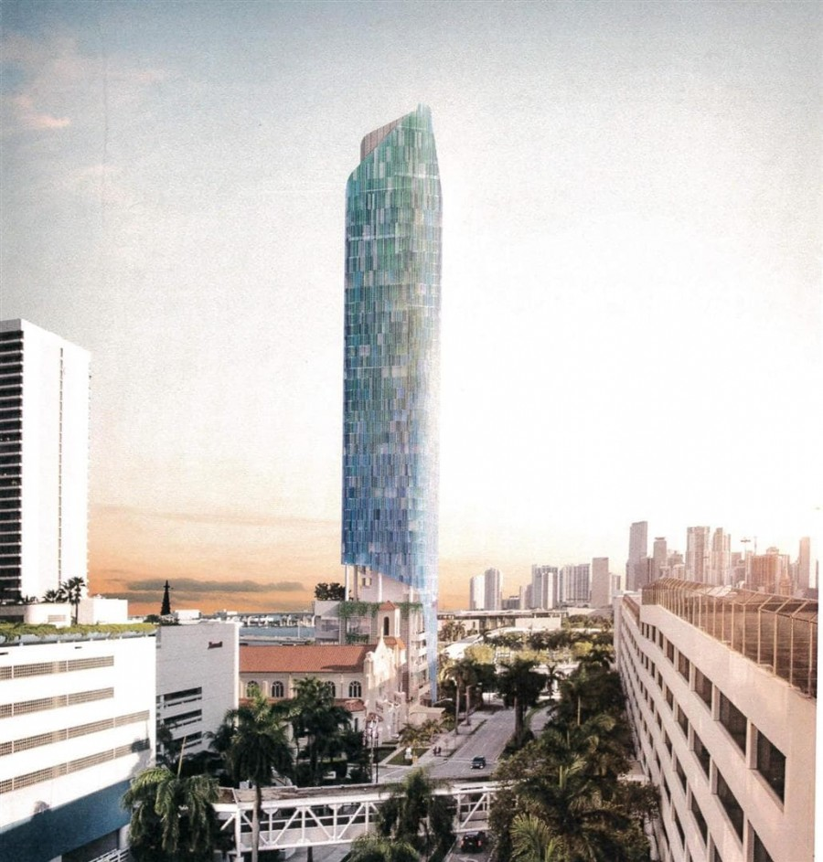 43-Story Hotel With Rooftop Bar Proposed Across From Resorts World