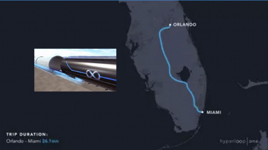 Miami To Orlando A Top Ten Finalist For Hyperloop One