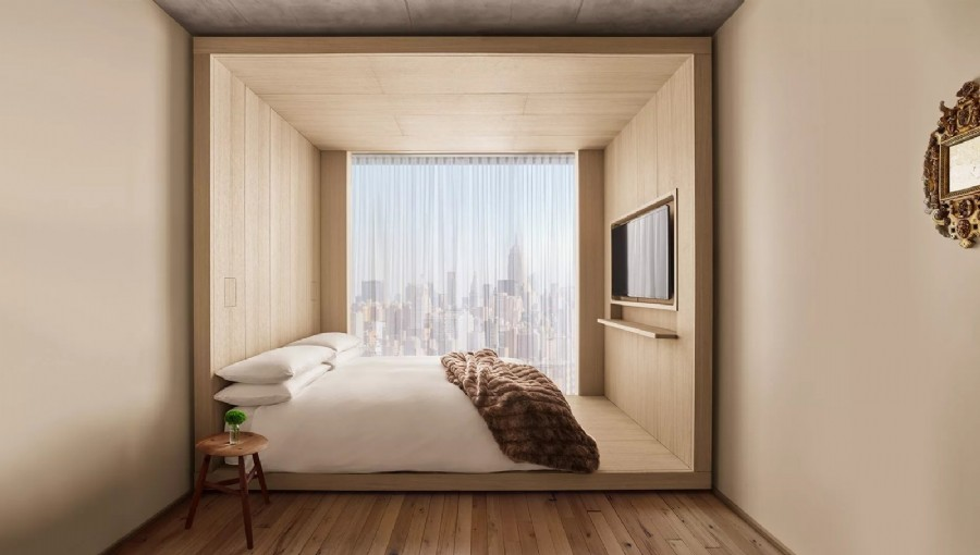 Take that, Airbnb! Ian Schrager's Public Hotel hopes to push back against home-sharing