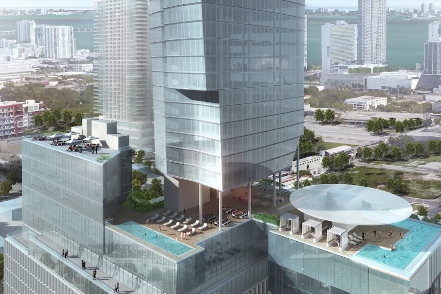 45-story condo designed by Carlos Zapata planned for downtown Miami