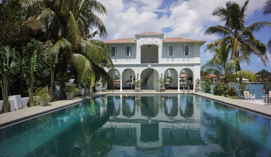 Al Capone's fantastically historic Miami house