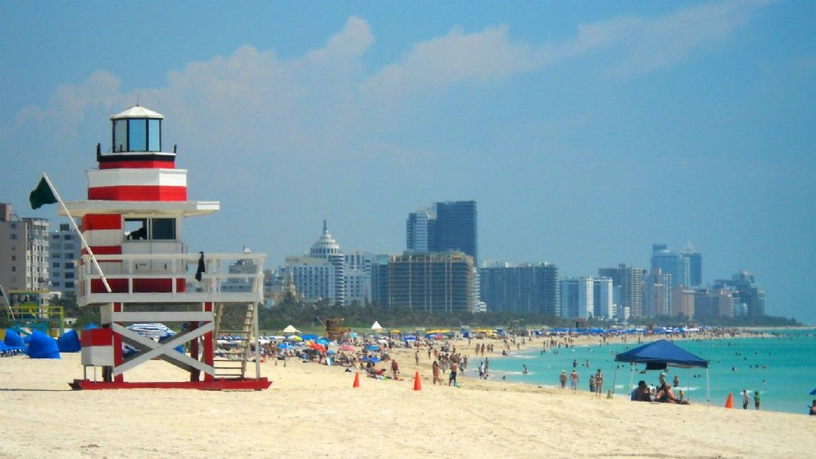 Miami Beach Tourist statistics