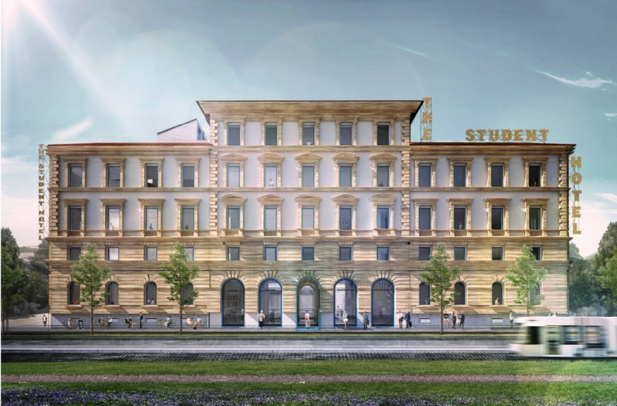 The Student Hotel, a fine anno debutta a Firenze la location per nomadi contemporanei